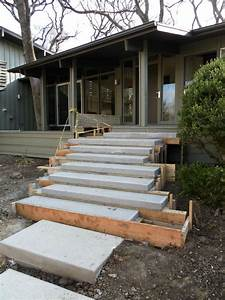 Floating Concrete Steps In 2020