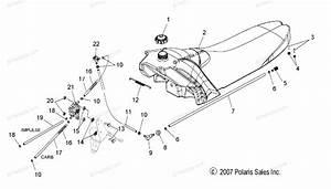 Polaris Snowmobile 2008 Oem Parts Diagram For Fuel System