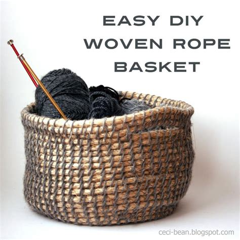 burlap covered furniture diy woven basket diy crafts