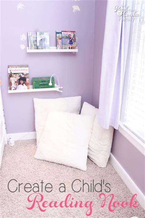 Kid's Bedroom Ideas ~ Create a Cozy Reading Nook