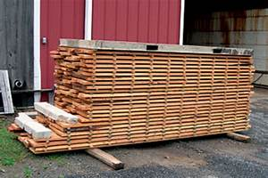 A simple approach to drying lumber - Woodshop News