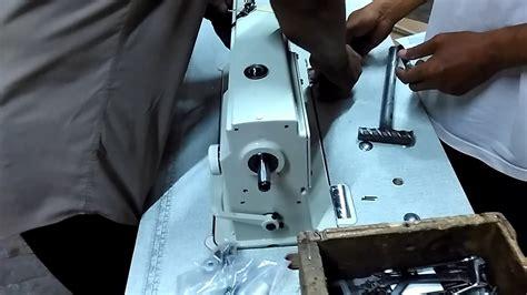 merakit meja mesin jahit typical gc    sumber