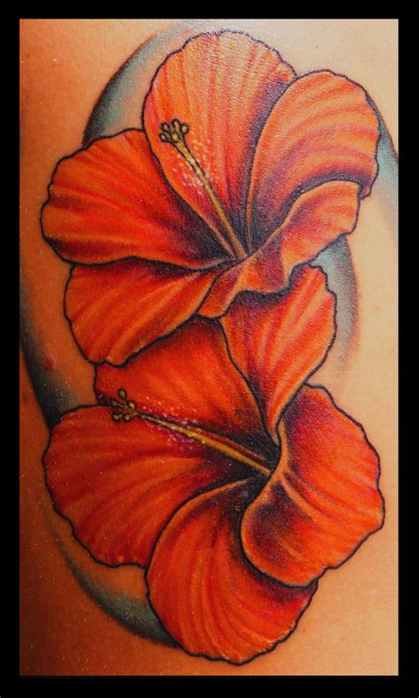 ideas  hibiscus flower tattoos  pinterest