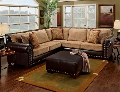 leather studded sectional home pinterest  tones