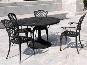 wrought iron coffee table patio furniture coffee table With patio chairs and coffee table