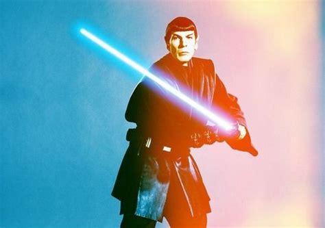 Star Wars Star Trek Meme - internet boldly uses the force on star wars star trek memes