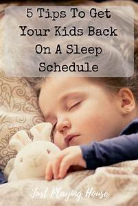 5 Tips To Get Your Kids Bedtime Schedule Back On Track ...