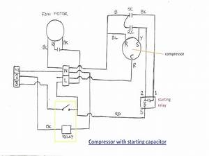 Air Conditioner Hard Start Kit Throughout Capacitor Wiring Diagram