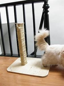 Scratch Off Template Elaine Ho Make Your Own Cat Scratching Post