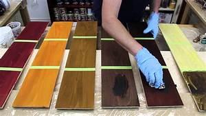 teinture et cire traditionnelles trucs et astuces youtube With teindre un meuble deja teint