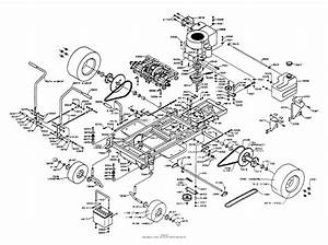 Dixon Ztr 4421  1995  Parts Diagram For Chassis Assembly