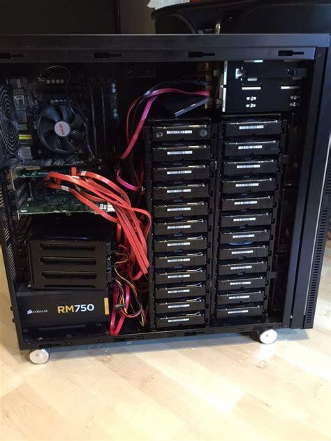 best home nas 25 best diy home server nas builds images on