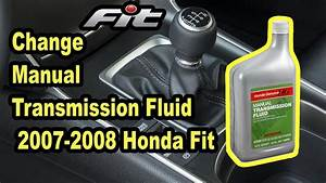 Replace Manual Transmission Fluid On 2007