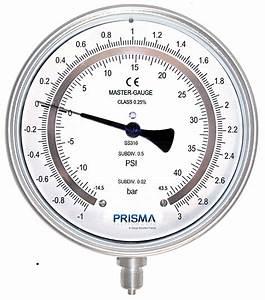 Master Pressure Gauge - Pressure Gauges