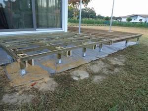 terrasse en bois sur pilotis nos conseils With plan d une terrasse en bois sur pilotis