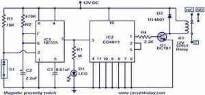 Proximity Detectors And Sensors Circuits Types And Diagrams