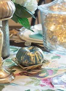 Painted Metallic Foil Pumpkins TGIF This Grandma Is Fun