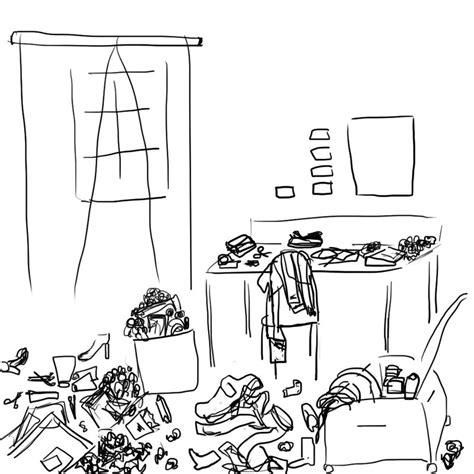 je range ma chambre yo des ptits dessins par ci par là