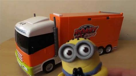 Roary The Racing Car With His Articulated Toy Trailer