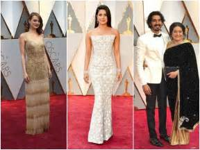 Celebrities On Red Carpet Oscars