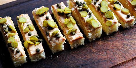 canapé foie gras foie gras canapé recipe great chefs