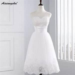 aliexpresscom buy 2017 cute cheap pearl white short With cute short white wedding dresses
