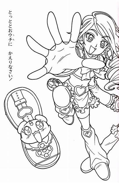 Pretty Cure Coloring Da Inviate Milazzo Immagini