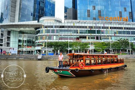 Boat Quay Ride by 24 Hours In Singapore Stay At Novotel Clarke Quay Take