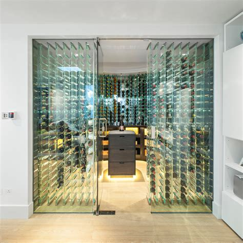st johns wood contemporary wine cellar london