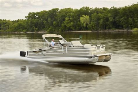 pontoon boat with cabin premier releases their cabin cruiser pontoon