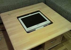 Thema anzeigen casemod table pc mit for Monitor tisch