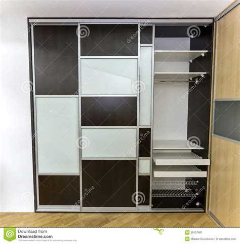 closet  sliding doors stock image image  opaque