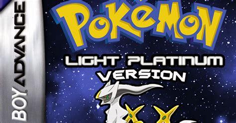 pokemon light platinum última versão rom baixar latest