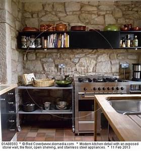 17 meilleures images a propos de mur en pierre sur With cuisine avec mur en pierre