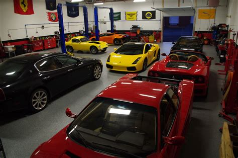 Rosso Service  Exotic Car Service Baltimore  Luxury Car