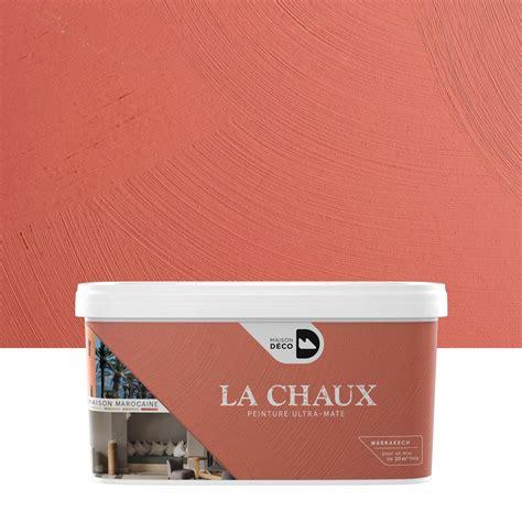 peinture chaux leroy merlin peinture 224 effet la chaux maison marocaine maison deco marrakech 2 5 l leroy merlin