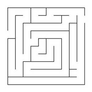 n de basteln labyrinth labyrinth einfach