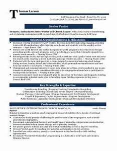 pastor resume template resume template easy http www With ministry resume builder