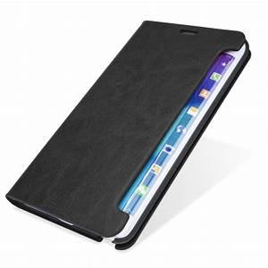 Olixar Samsung Galaxy Note Edge Wallet Case - Black