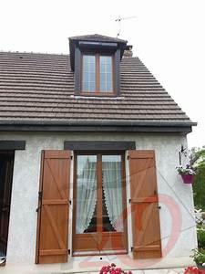 Petit Bois Fenetre : fen tre pvc ch ne dor e petit bois laiton volet battant lorenove ~ Melissatoandfro.com Idées de Décoration