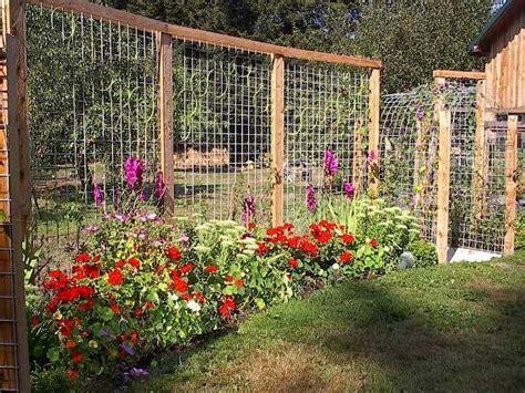 Tina's Terrific Trellis Fence  Flea Market Gardening