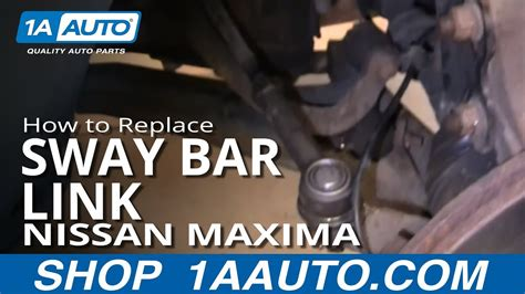 replace sway bar link   nissan maxima youtube