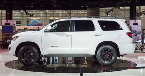 2020 Toyota Sequoia Trd Pro Joins An Off-road-friendly