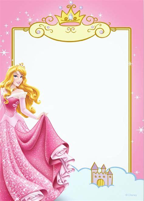 printable princess invitation templates
