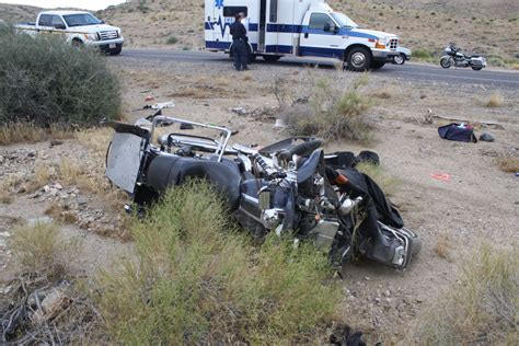 Man Killed In Motorcycle Crash Near Border Between Utah