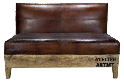 achat canape cuir mobilier vintage de francisco segarra mobilier restaurant