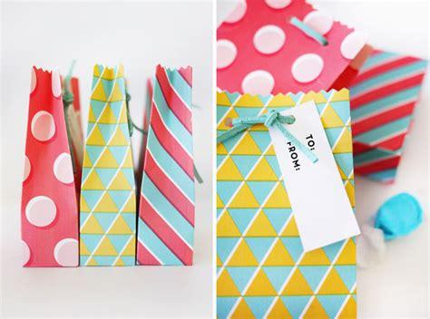 printable geometric gift bags