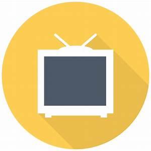 TV Icon | Free Flat Multimedia Iconset | DesignBolts