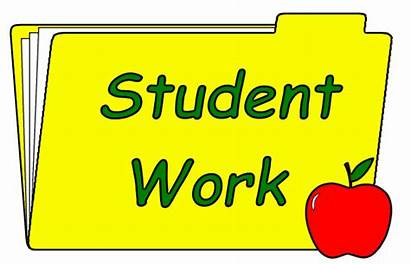 Clip Student Words Word Clipart Folder Class