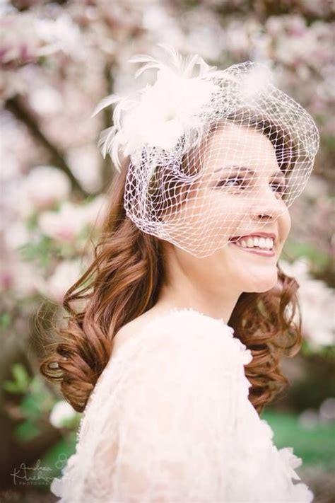 50s Hairstyles Wedding by 50s Wedding Vintage Style Hair Birdcage Veil Hair
